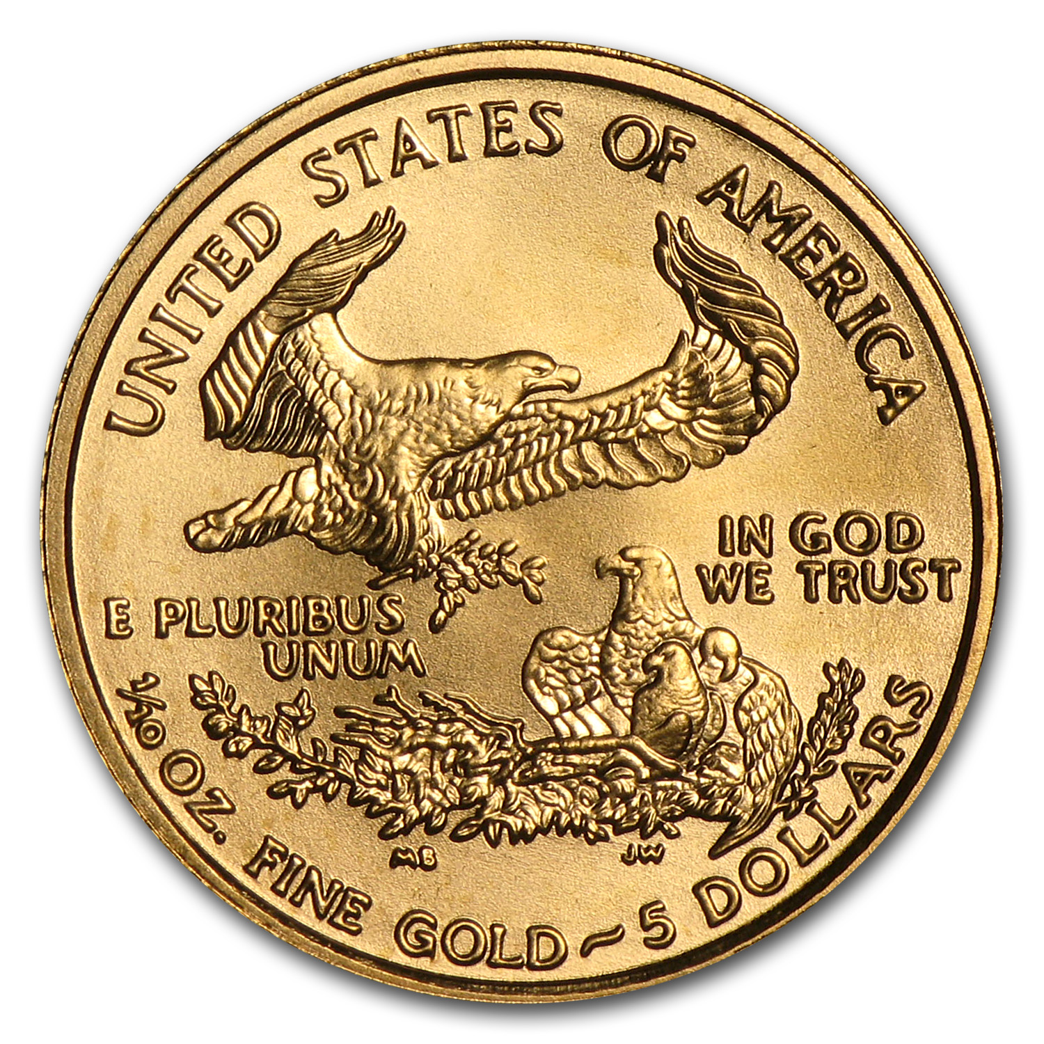 2002 1/10 oz Gold American Eagle (BU)