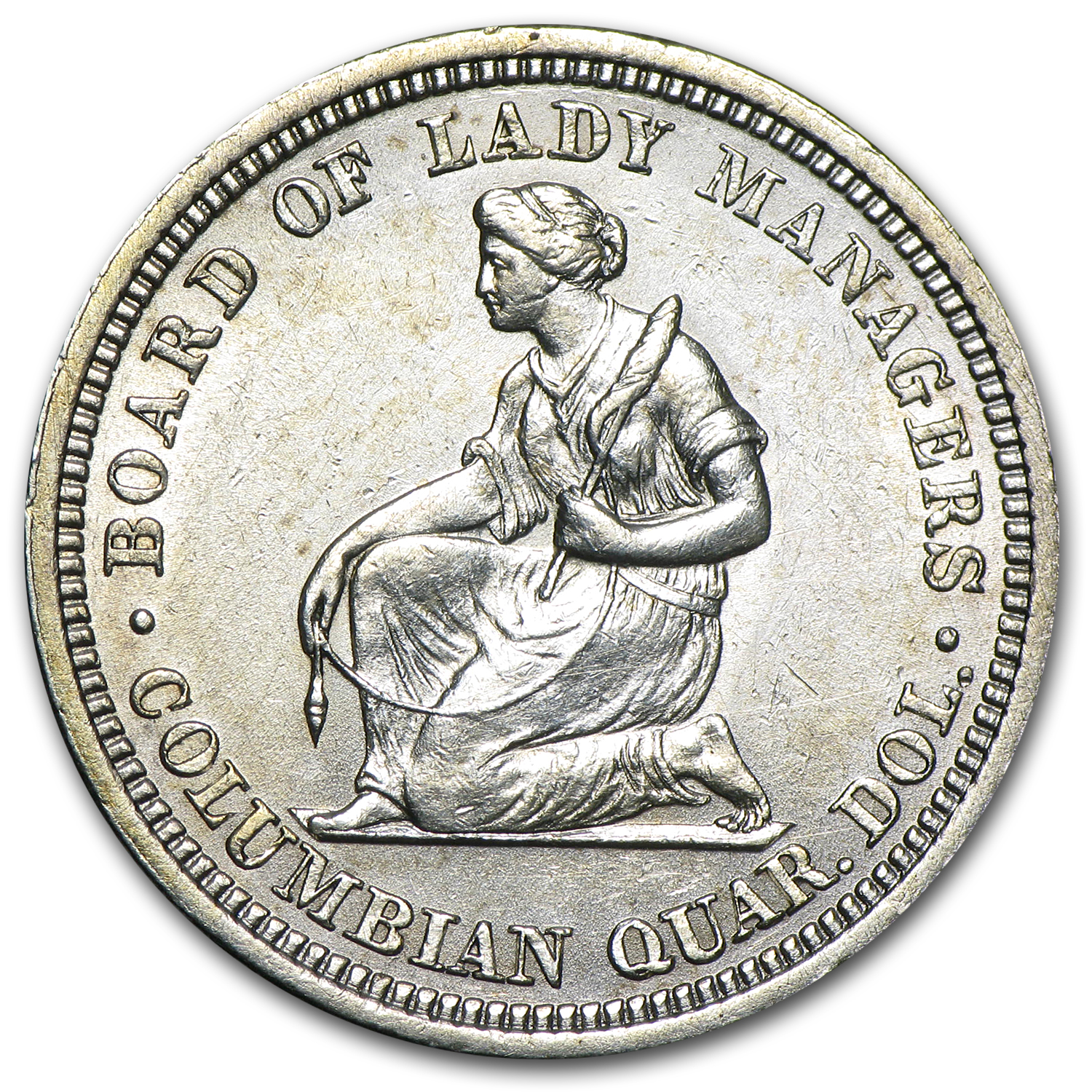 1893 Isabella Commemorative Quarter - Almost Uncirculated