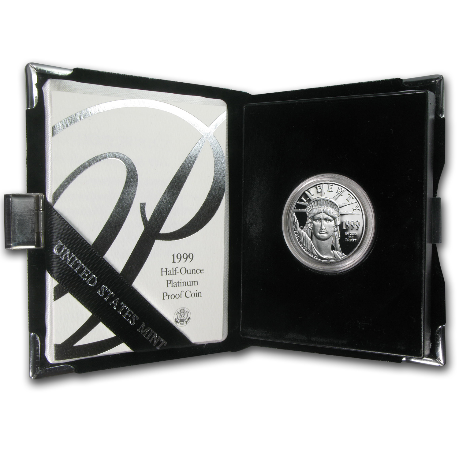 1999-W 1/2 oz Proof Platinum American Eagle (w/Box & COA)