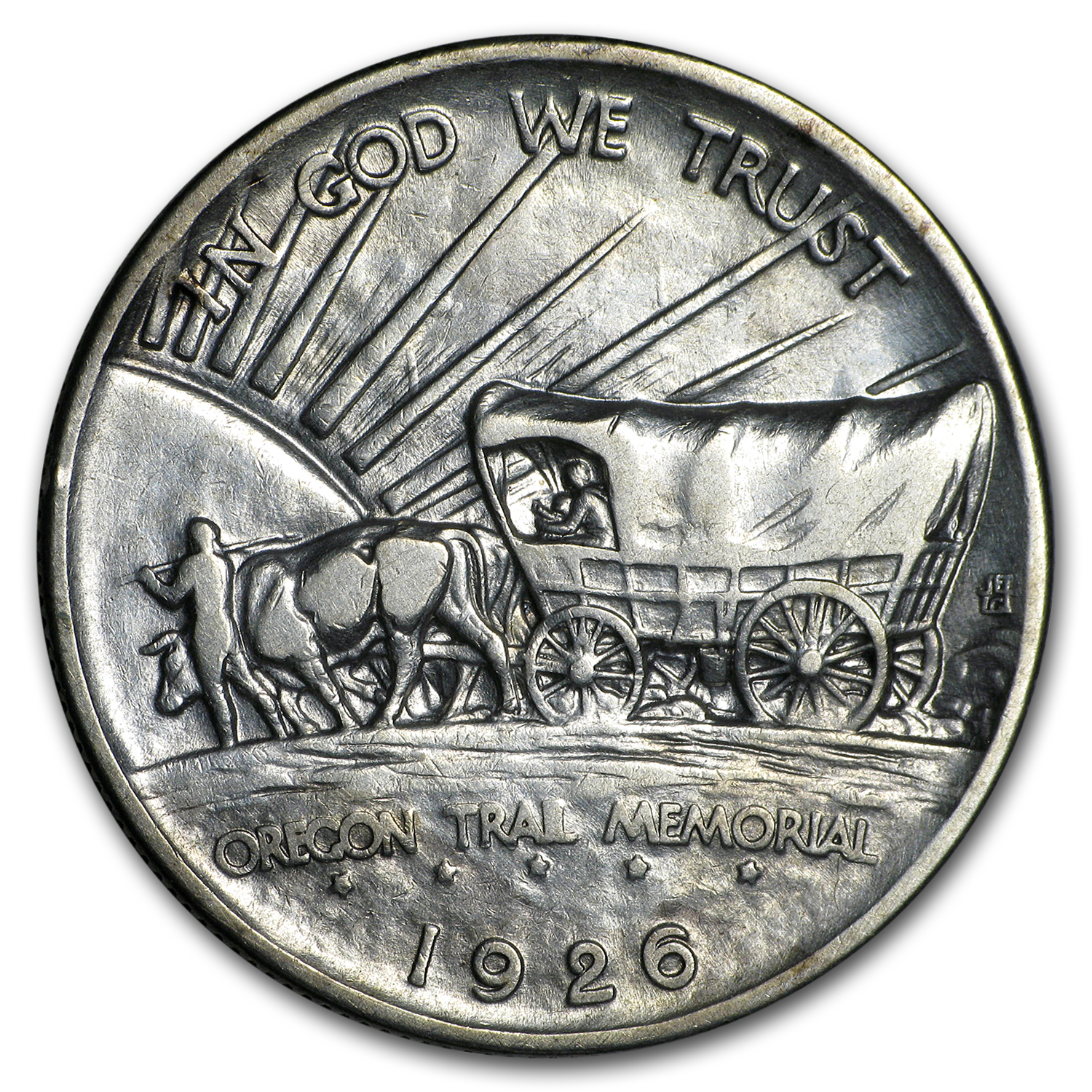 1926 Oregon Trail Memorial Half Commem Half AU