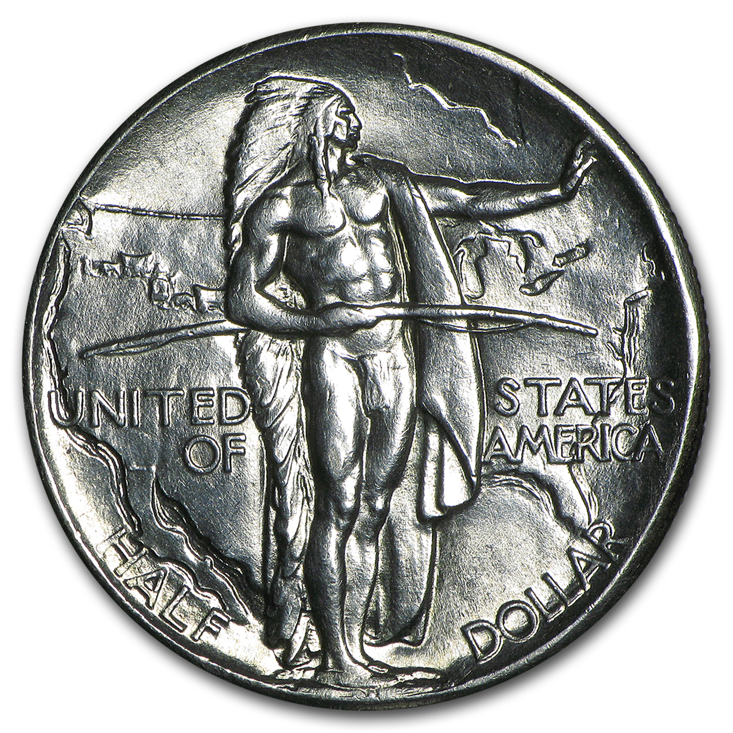 1926 Oregon Trail Memorial Half Dollar Commem Half BU