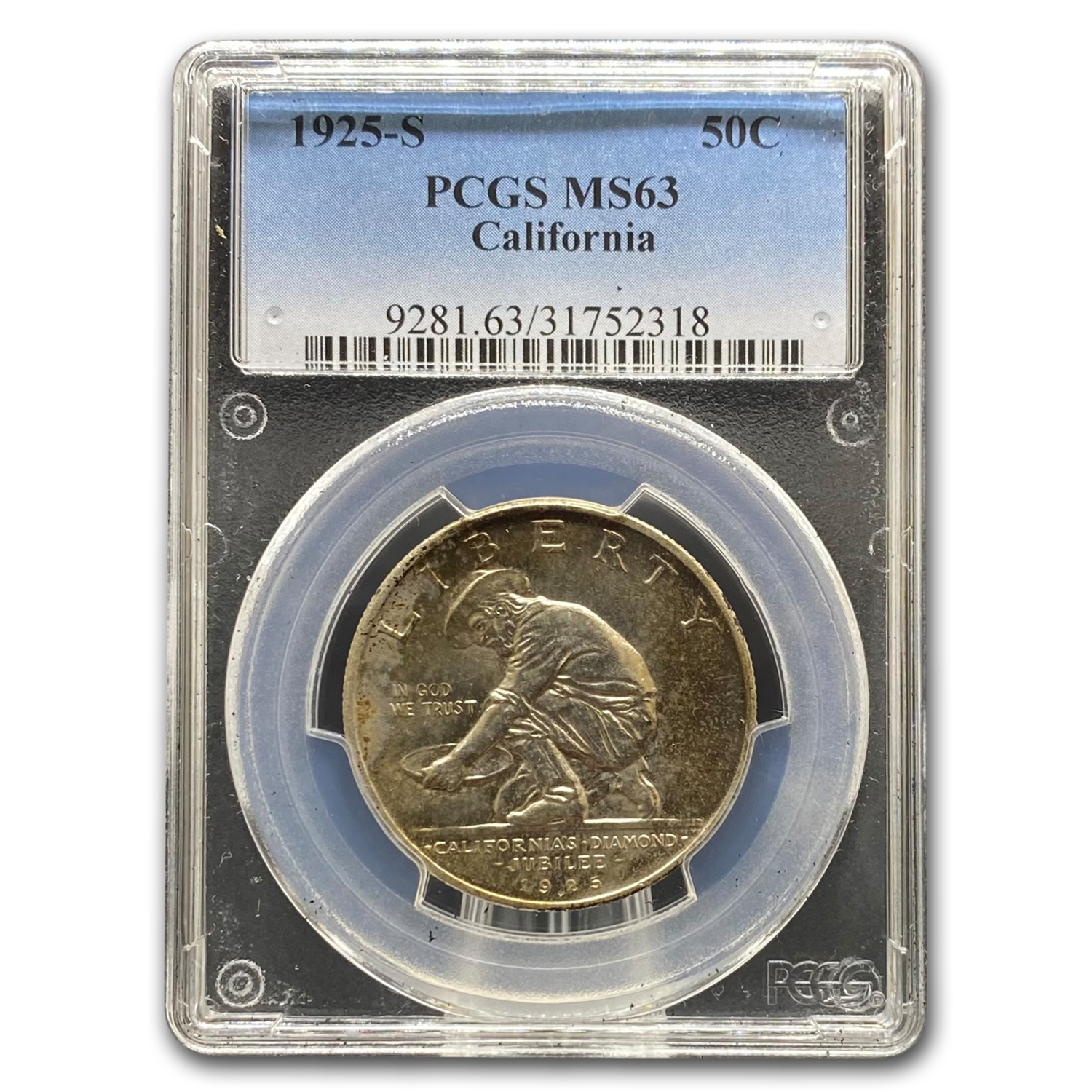 1925-S California Diamond Jubilee MS-63 PCGS