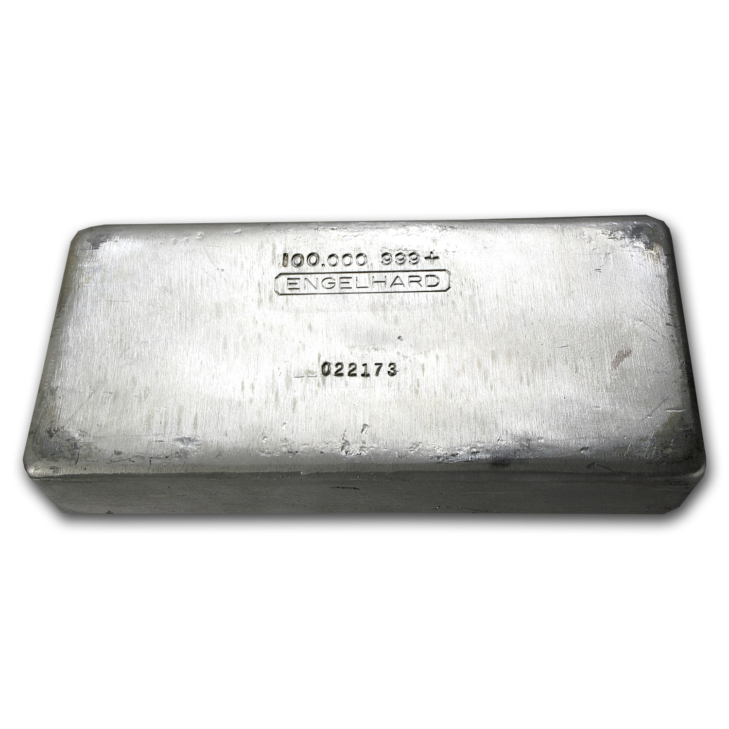 100 oz Silver Bar - Engelhard (First Generation)