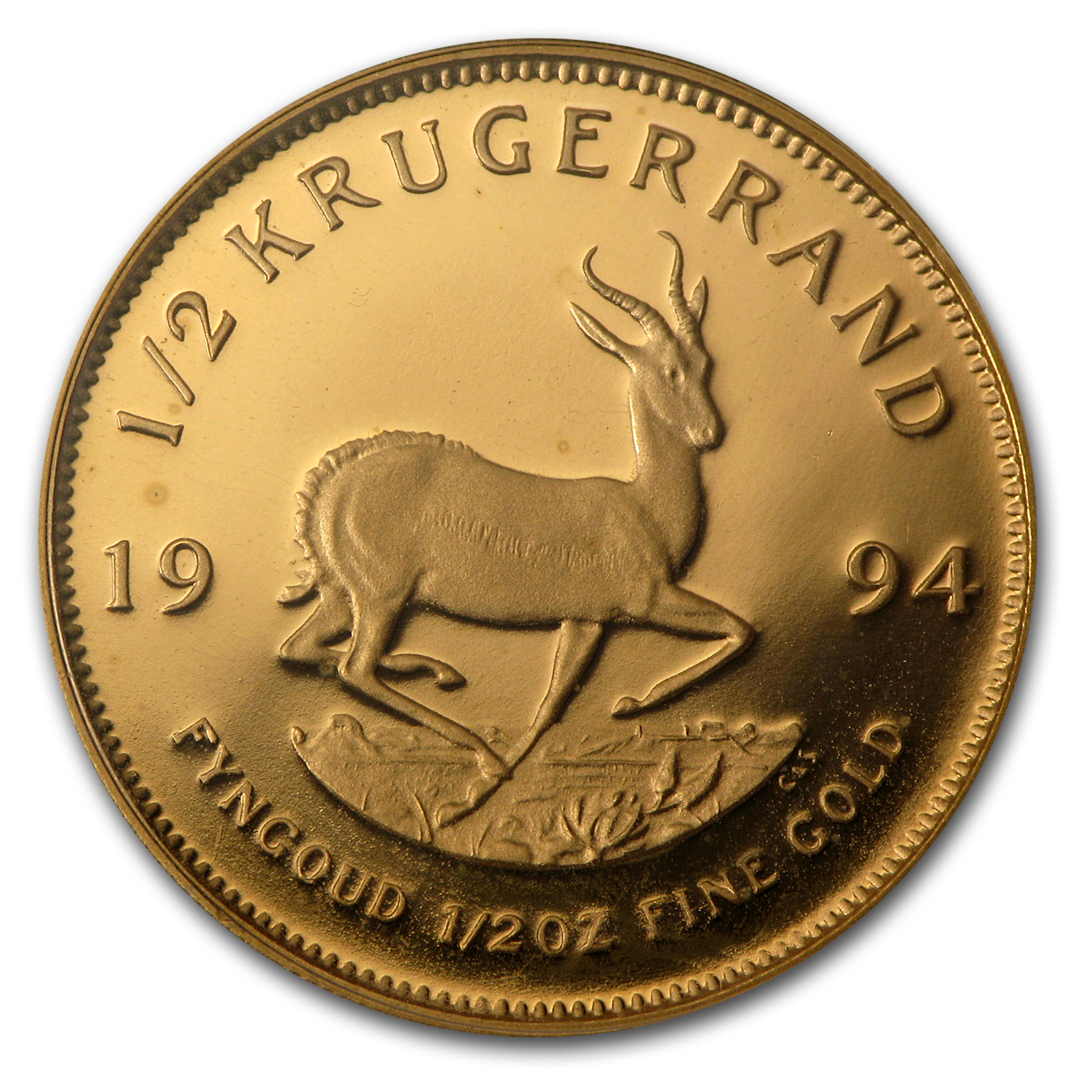 1994 South Africa 1/2 oz Proof Gold Krugerrand