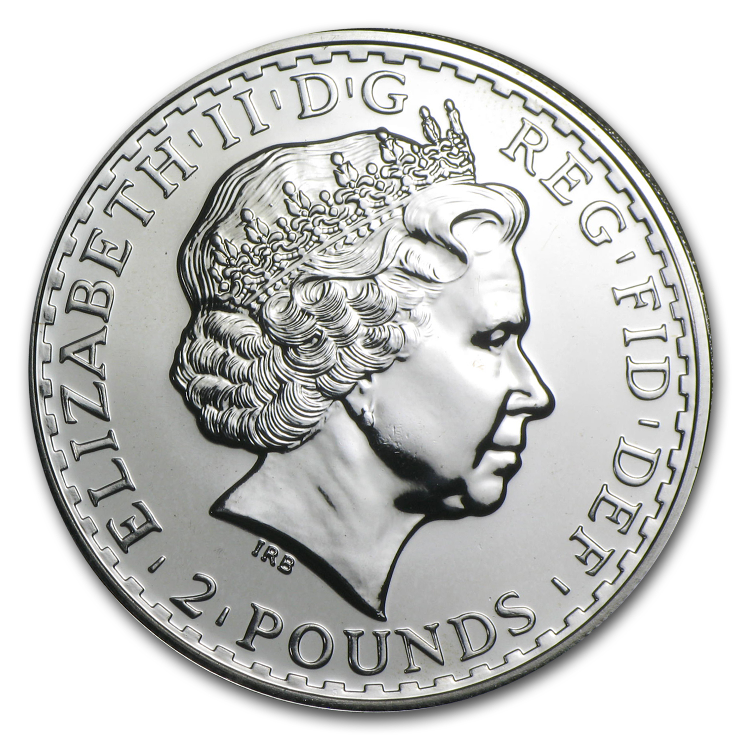 2009 Great Britain 1 oz Silver Britannia BU