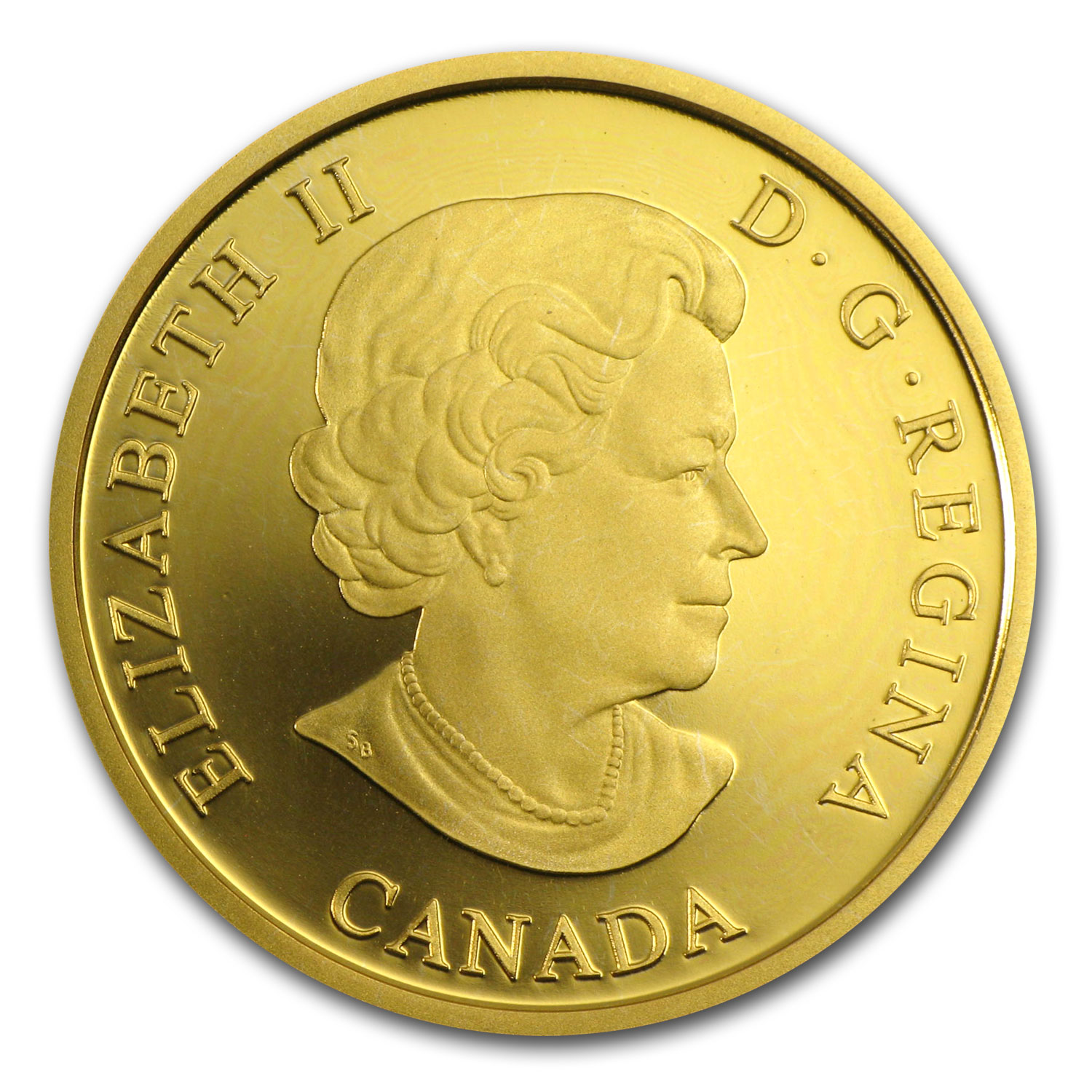Canadian 2005 $100 Gold Proof - Supreme Court