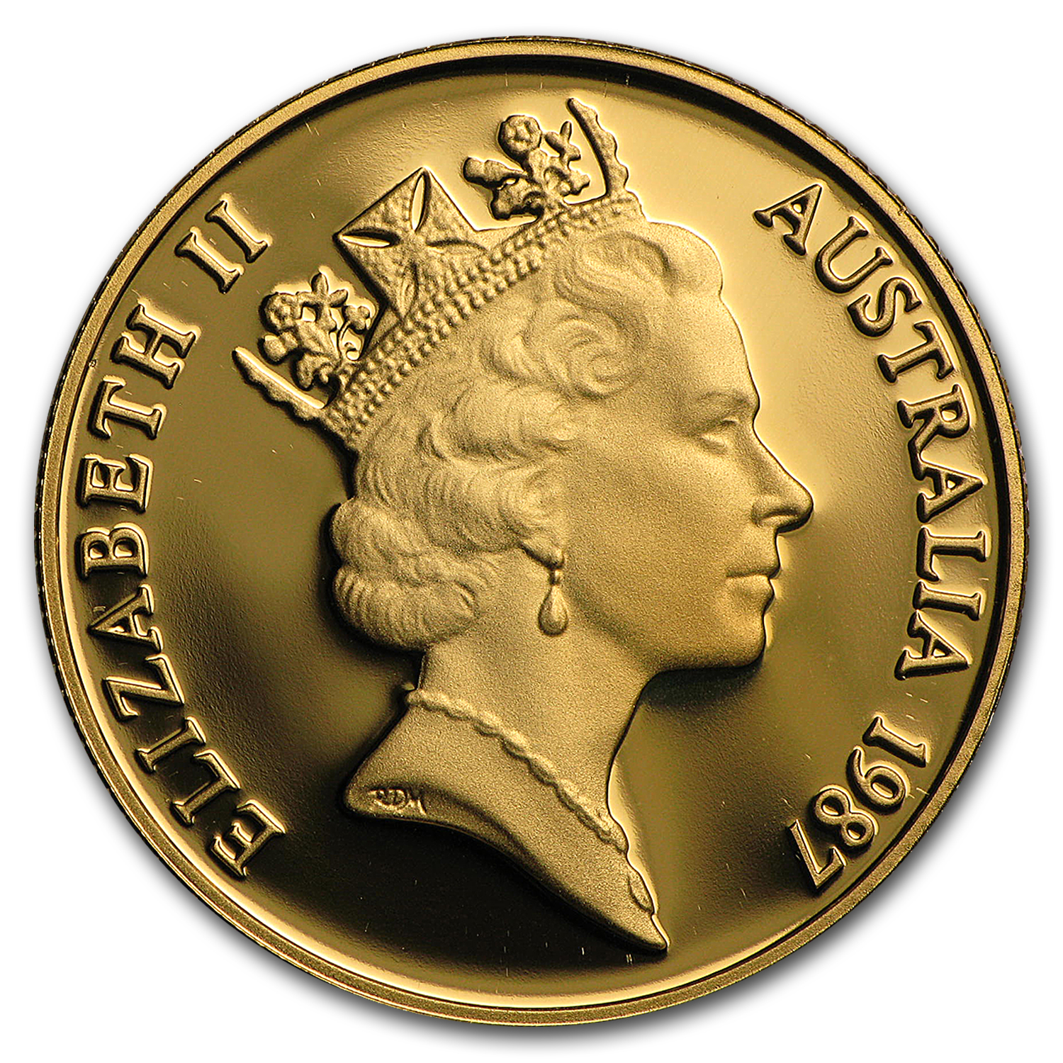 1987 Australia Gold $200 Arthur Phillip BU/Proof