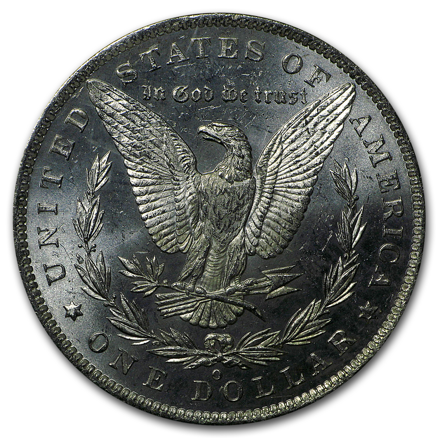 1885-O Morgan Dollar MS-63 PL Proof Like PCGS