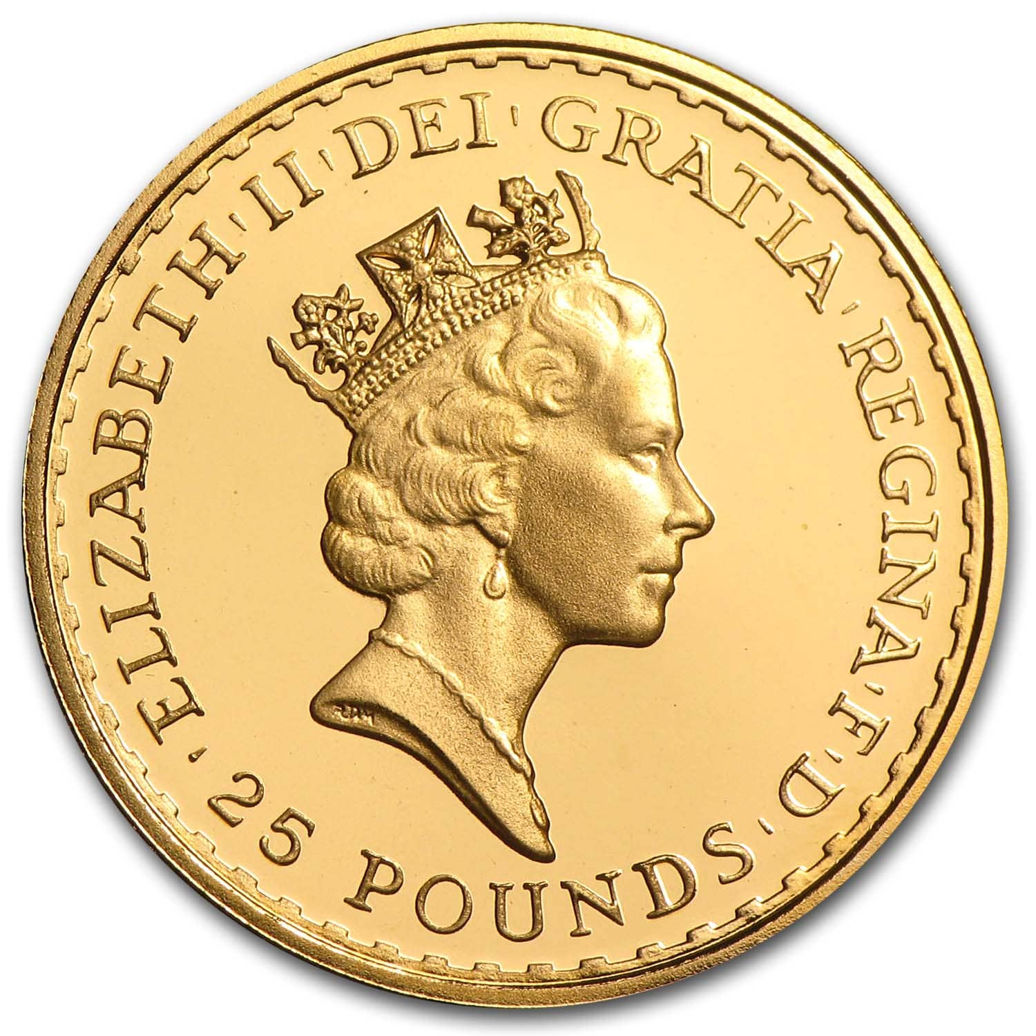 Great Britain 1/4 oz Gold Britannia BU/Proof (Random Year)