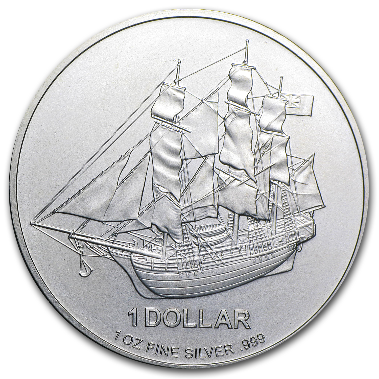 Cook Islands Silver $1 (Random Dates, ASW 1.00)