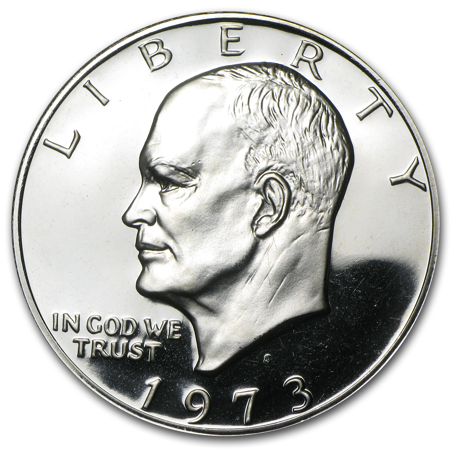 1973-S Eisenhower Dollar Gem Proof - Clad