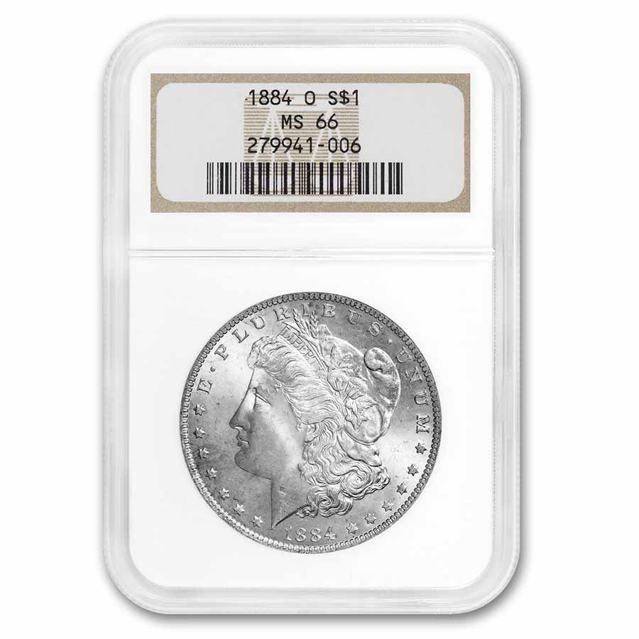 1884-O Morgan Dollar MS-66 NGC