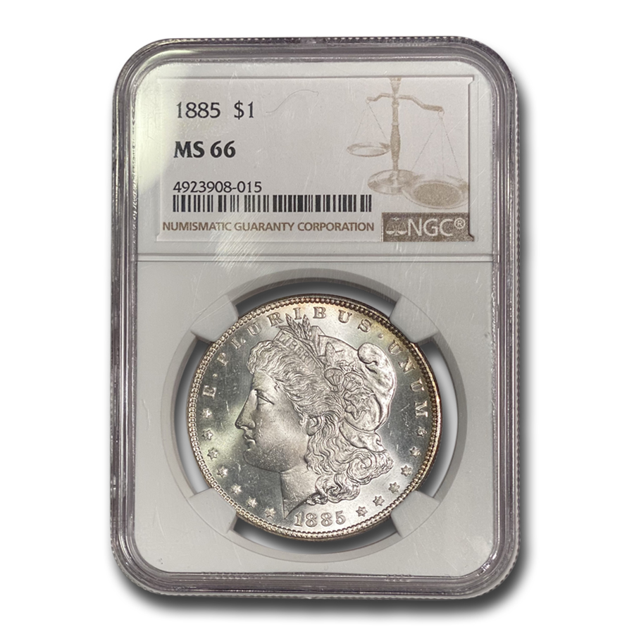 1885 Morgan Dollar MS-66 NGC