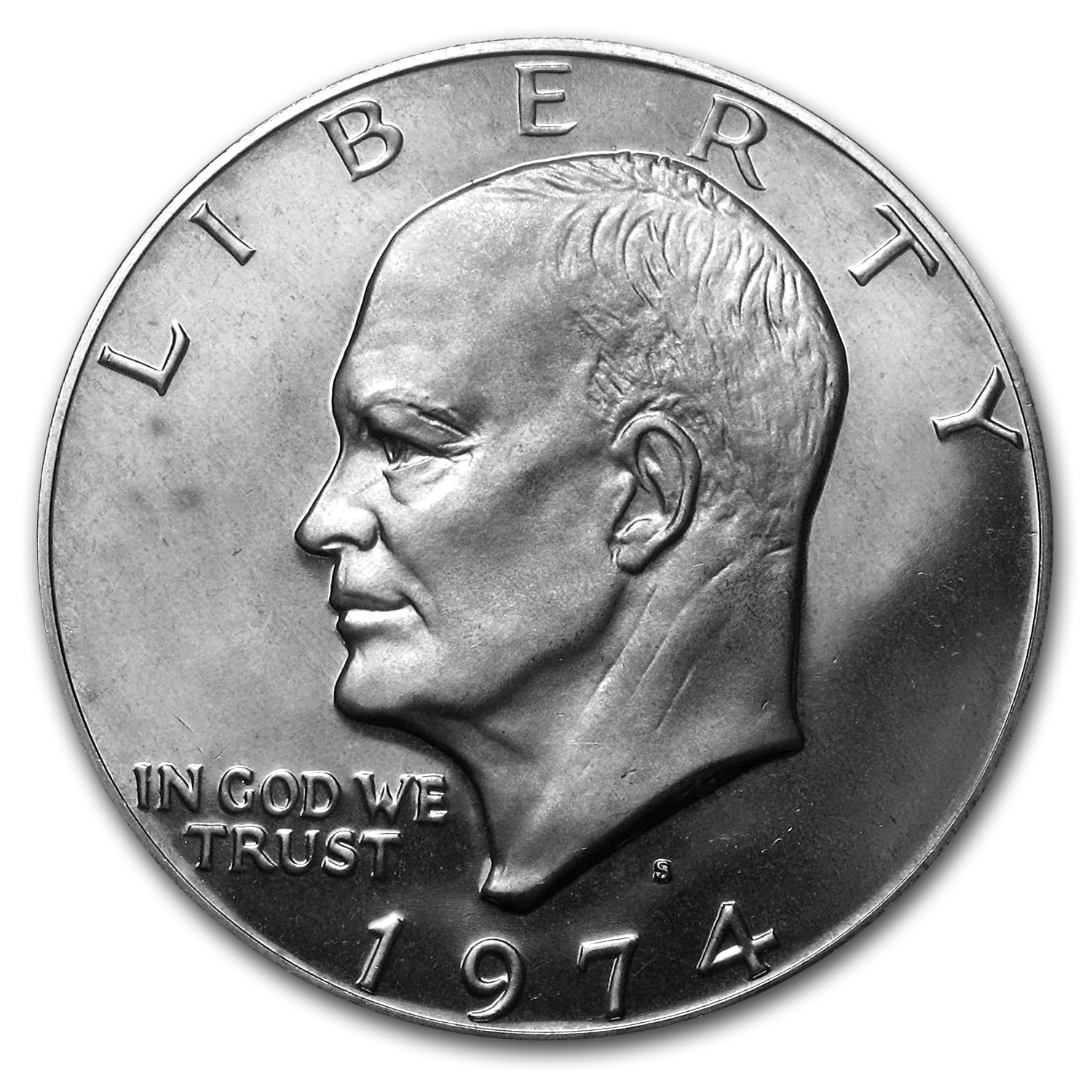 1974-S Clad Eisenhower Dollar Gem Proof