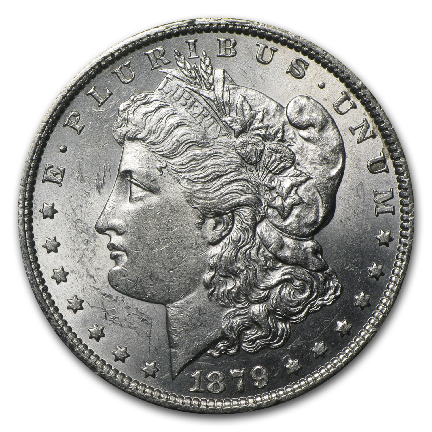 1879-O Morgan Dollar - Brilliant Uncirculated