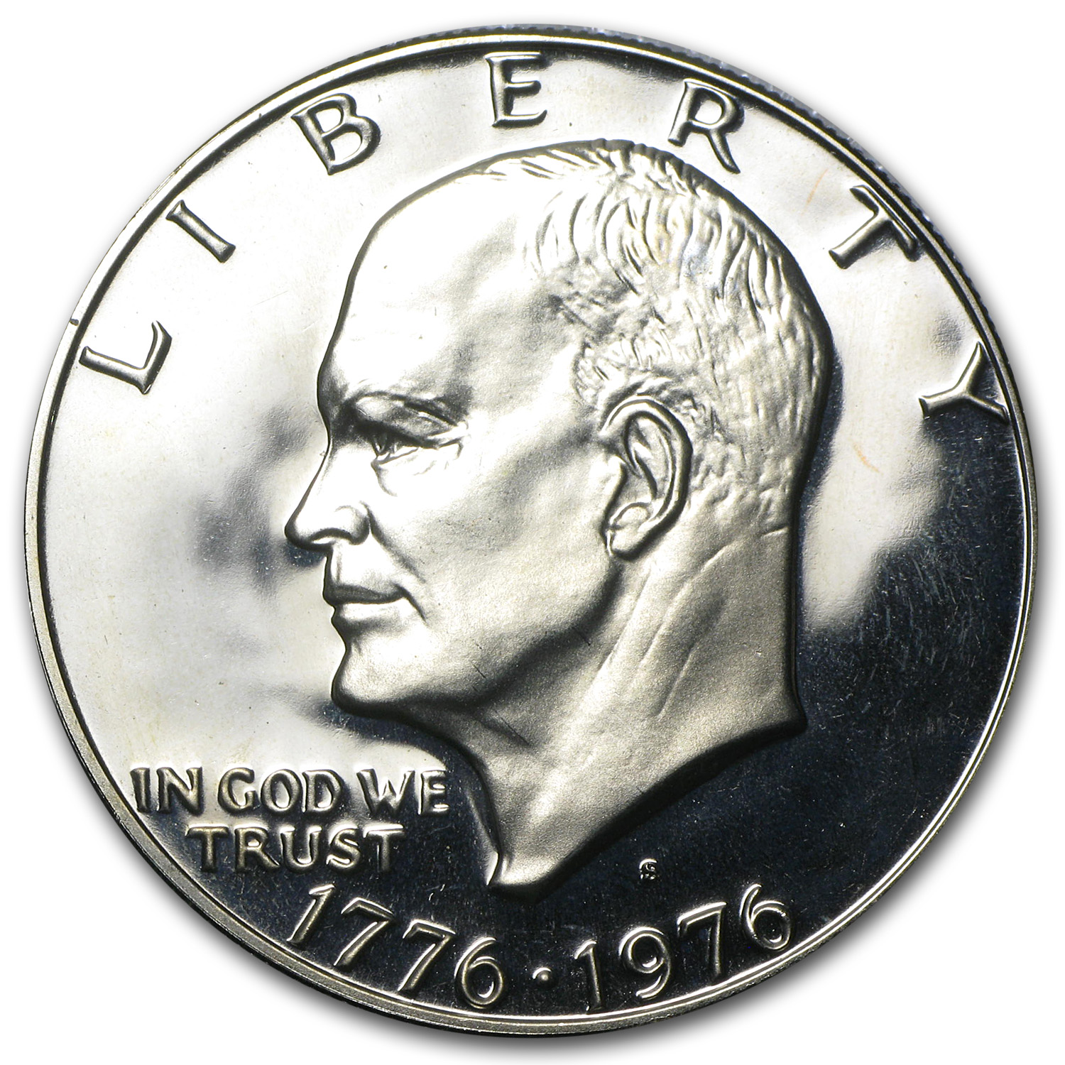 1976-S Eisenhower Dollar (Type-1) Gem Proof - Clad