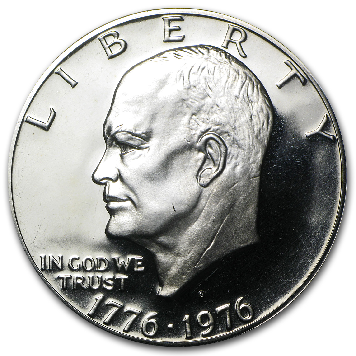 1976-S Clad Eisenhower Dollar Gem Proof (Type-2)