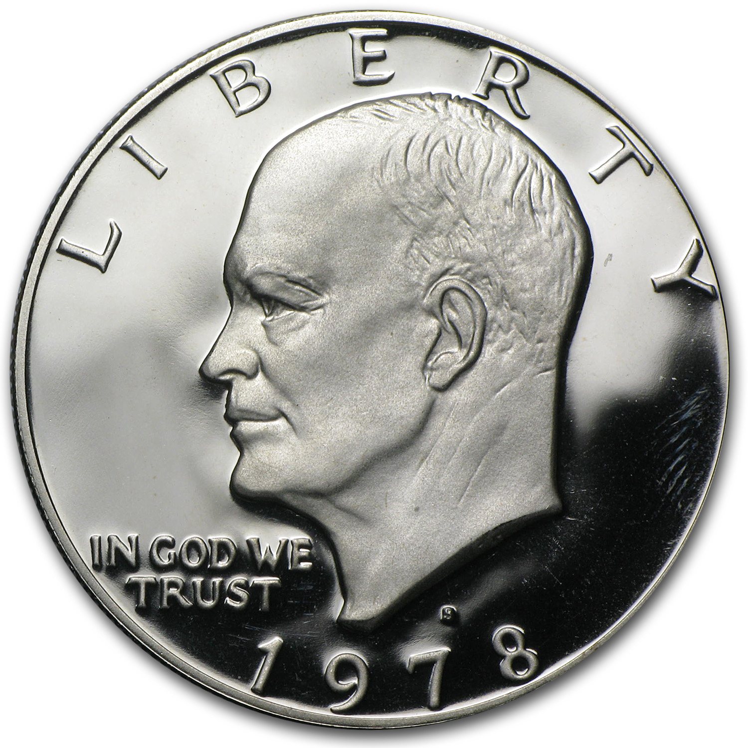 1978-S Eisenhower Dollar Clad Gem Proof