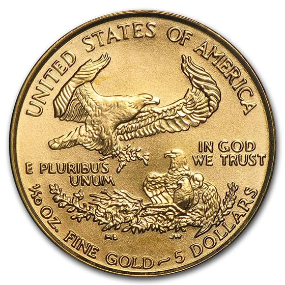 1/10 oz Gold American Eagle BU (Random Year)