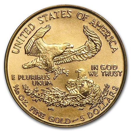 1 10 Oz Gold Eagle Coin American Eagle Coins For Sale