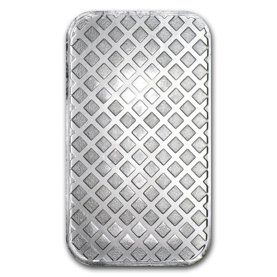 1 oz Silver Bars - Morgan Design (New)