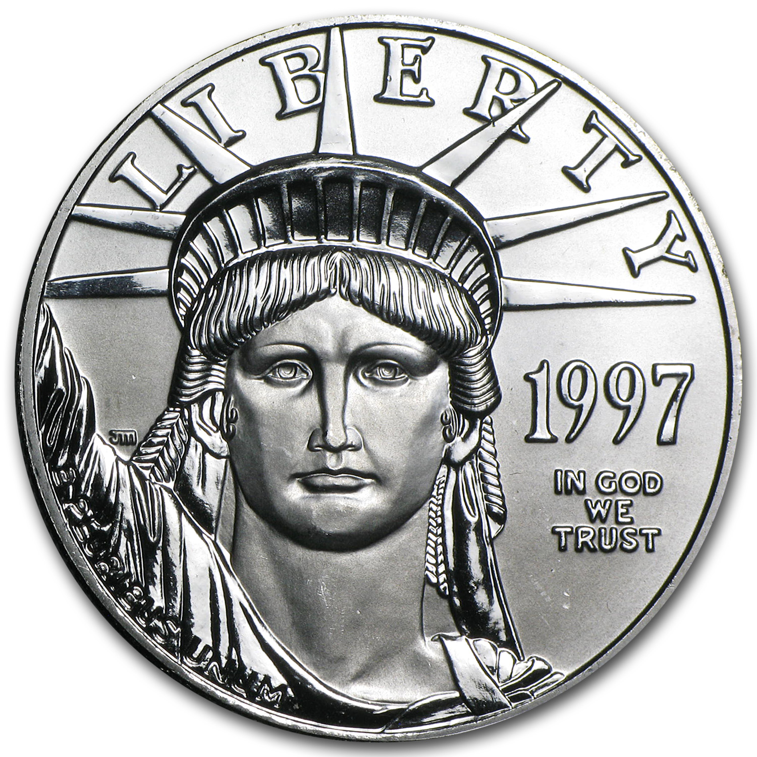 1997 1 oz Platinum American Eagle BU