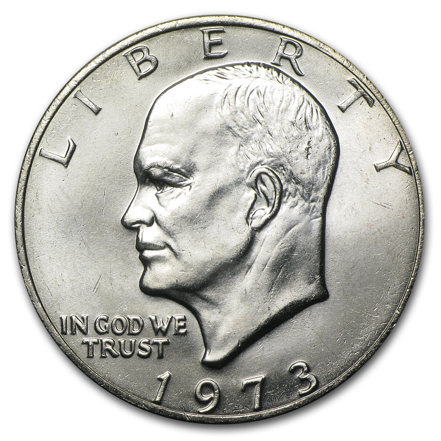 1973 Eisenhower Dollar - Brilliant Uncirculated