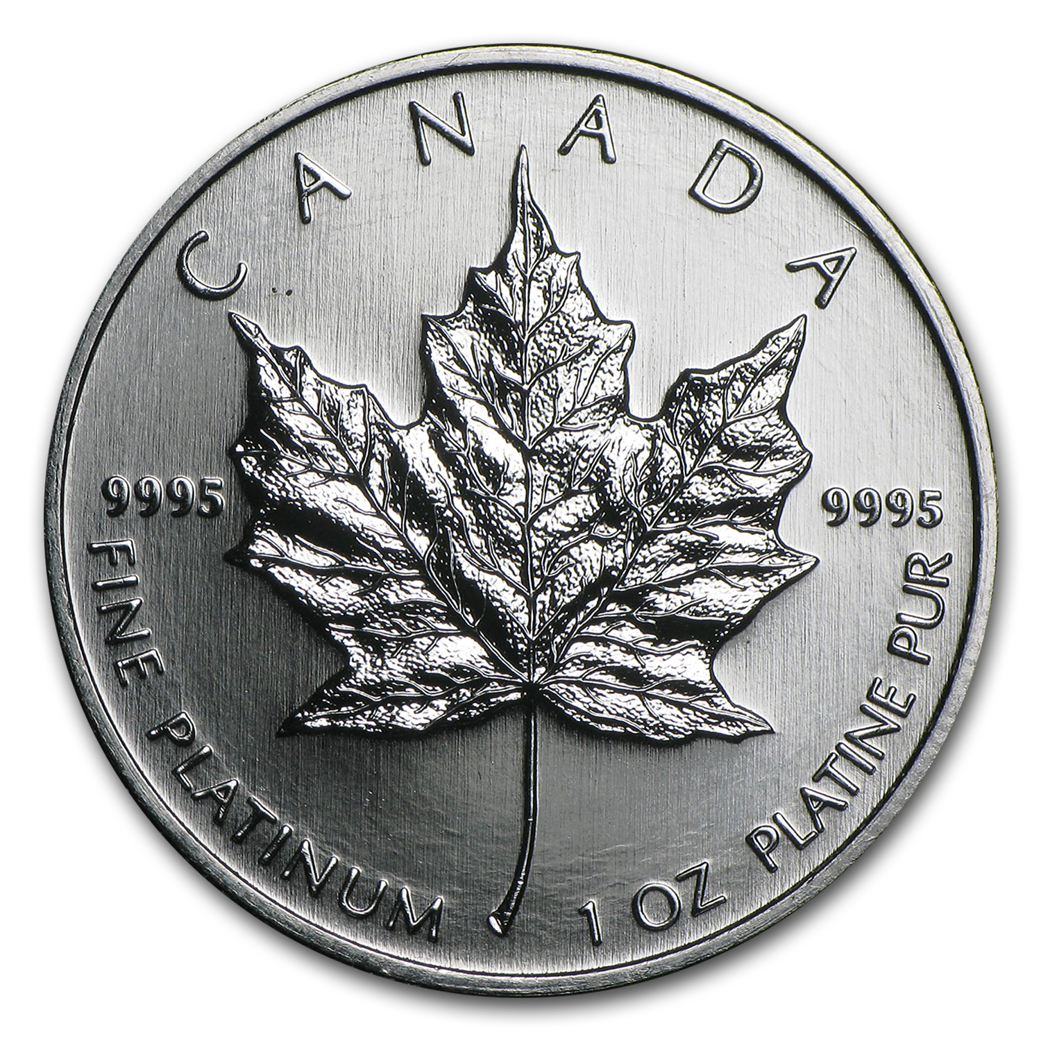 2009 1 oz Canadian Platinum Maple Leaf BU