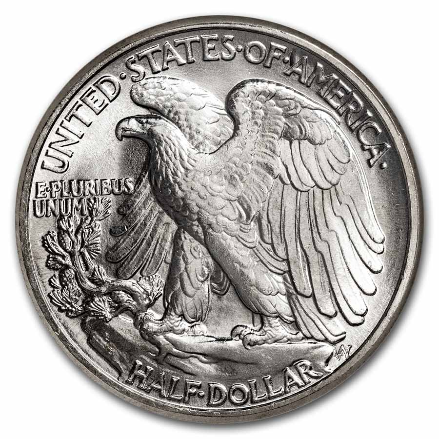 1942 Walking Liberty Half Dollar MS-65 NGC