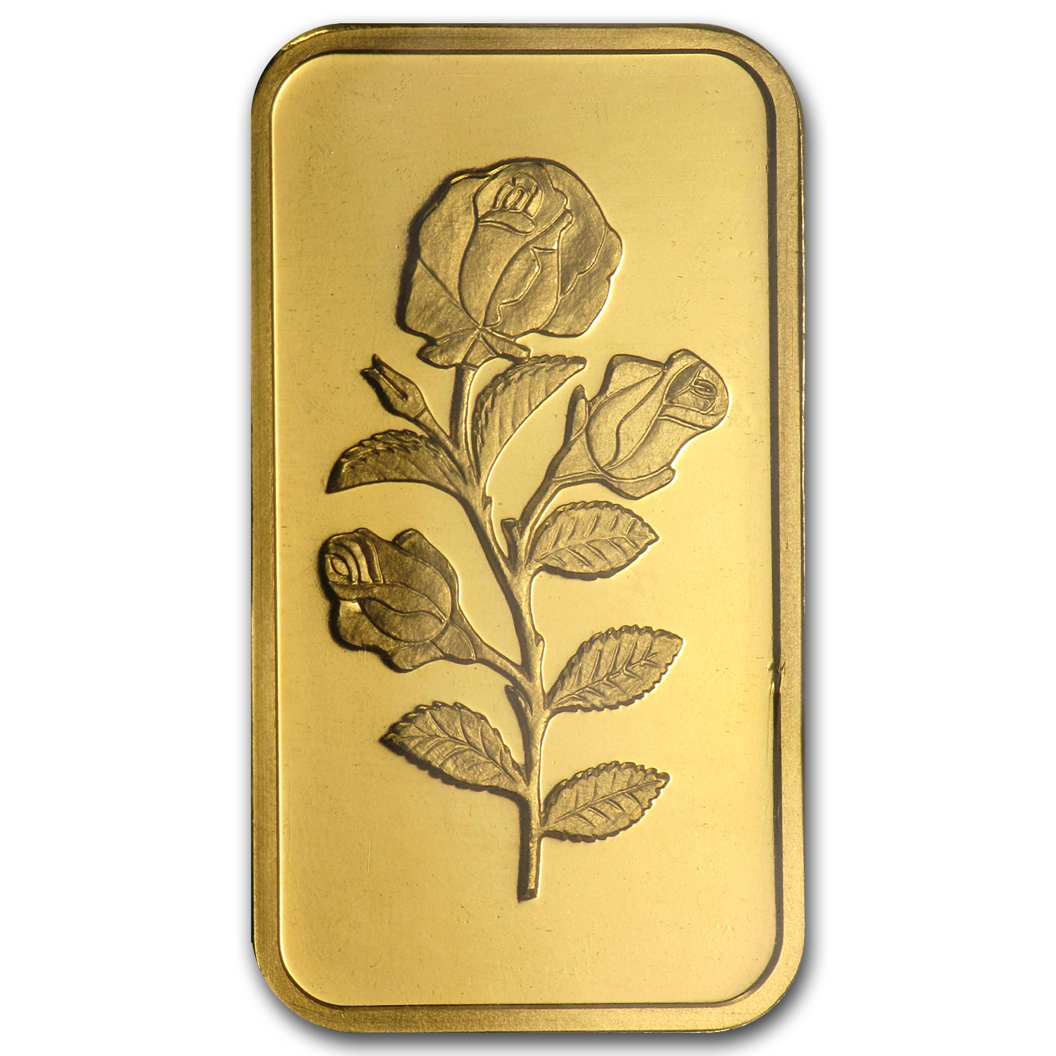 1/2 oz Gold Bar - PAMP Suisse Rose