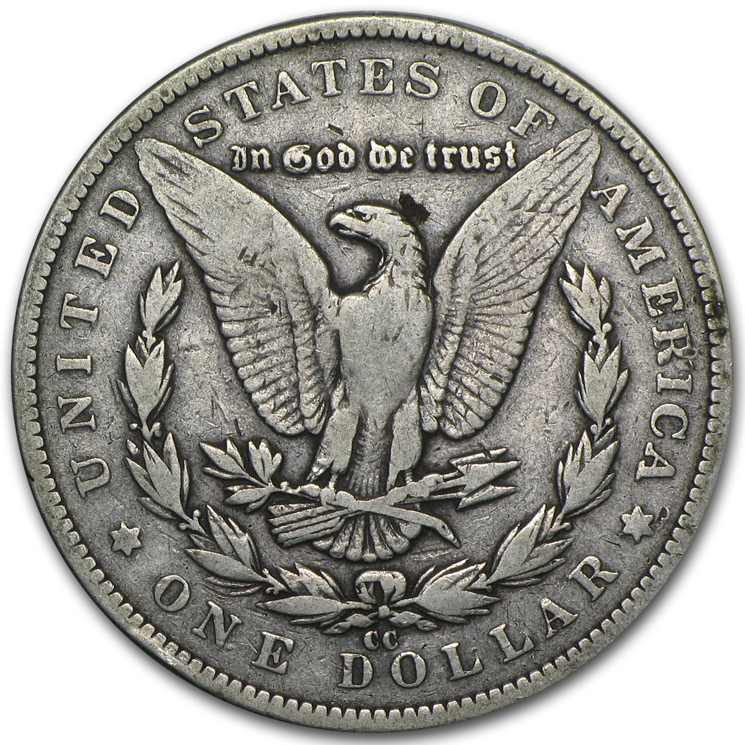 1891-CC Morgan Dollar Fine
