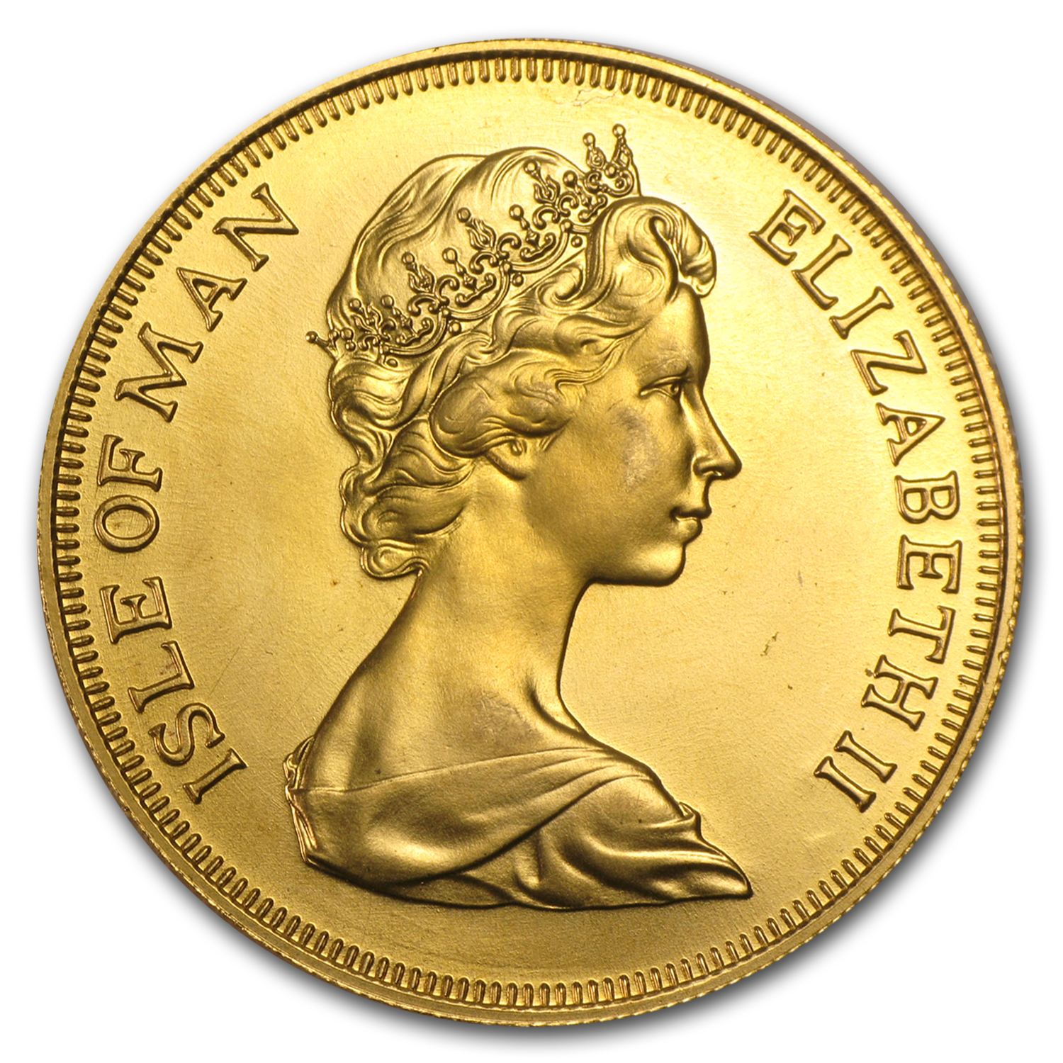 Isle of Man Gold 5 Pounds Viking BU (Random Dates)