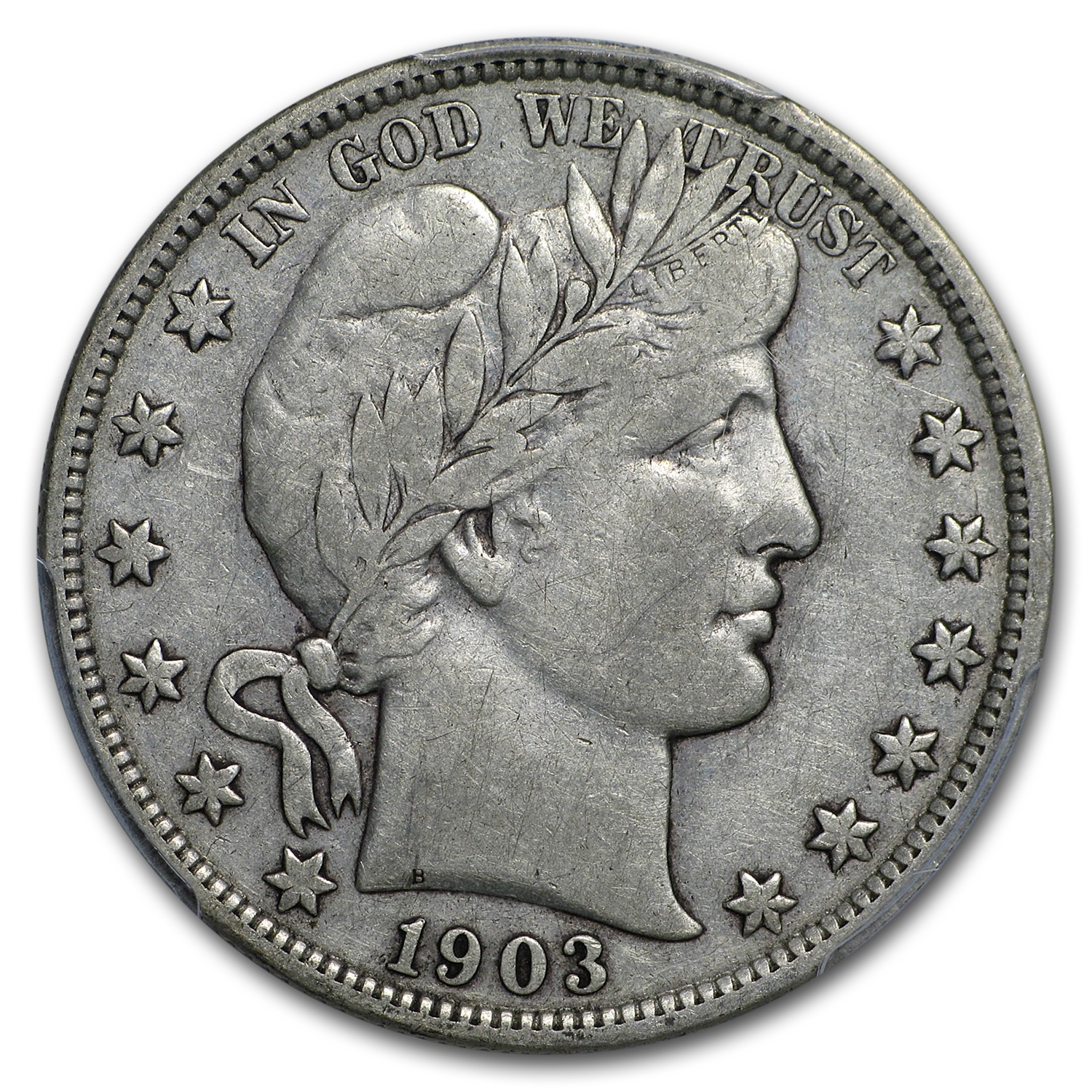1903 Barber Half Dollar VF