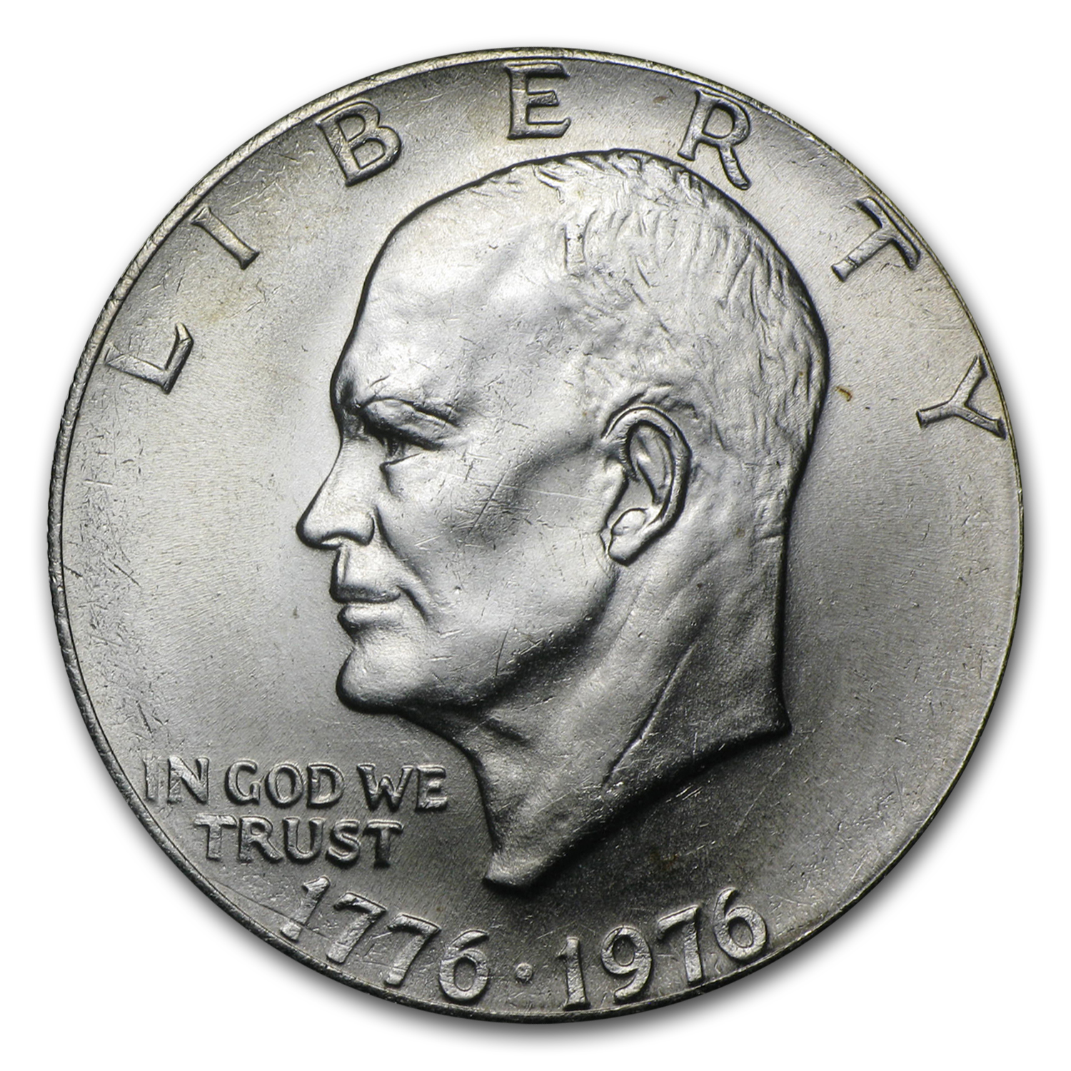 1976 Clad Eisenhower Dollar BU (Type-2)