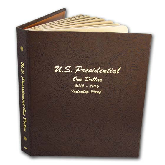 2007-2016 P, D & S 115-Coin Presidential Proof Set (Dansco Album)
