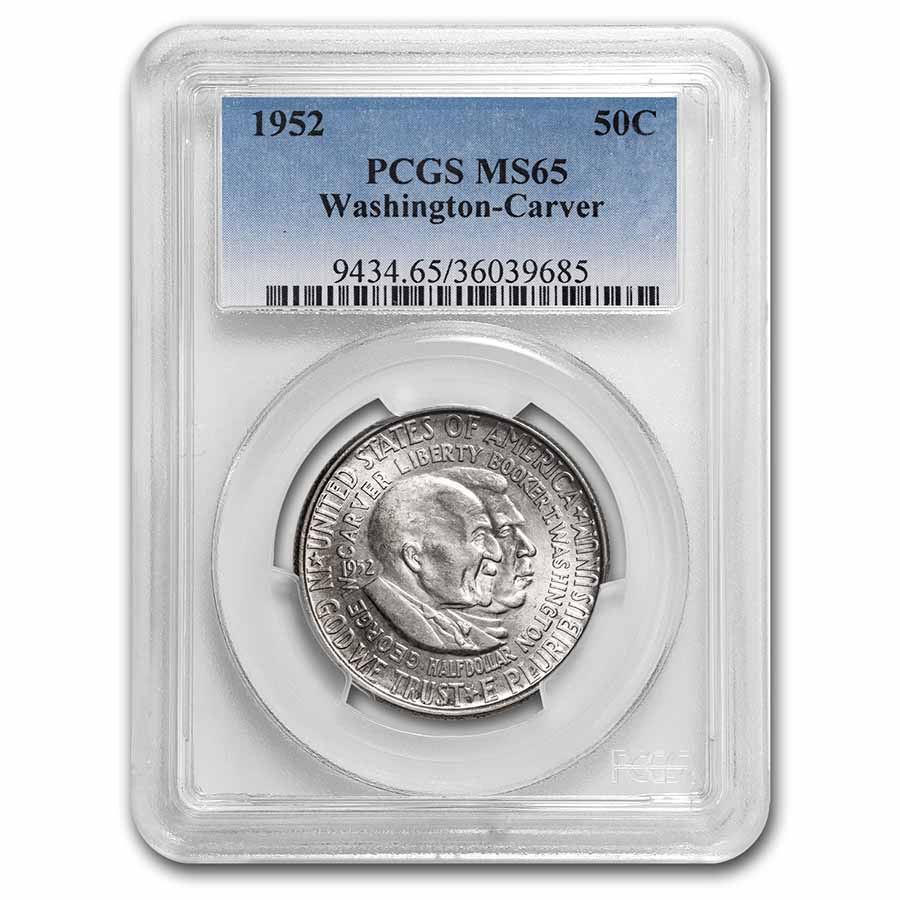 1952 Washington-Carver Half MS-65 PCGS