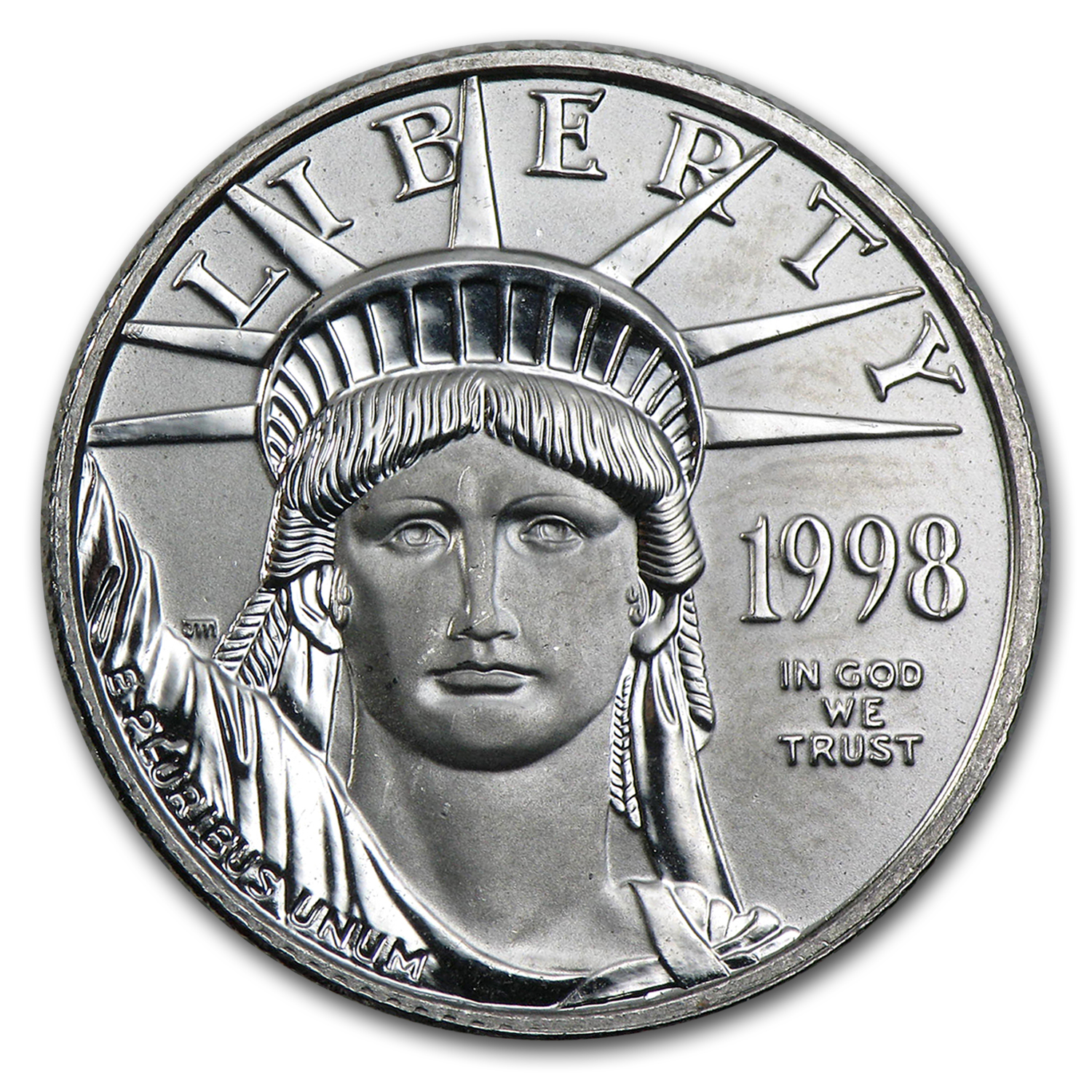 1998 1/4 oz Platinum American Eagle BU