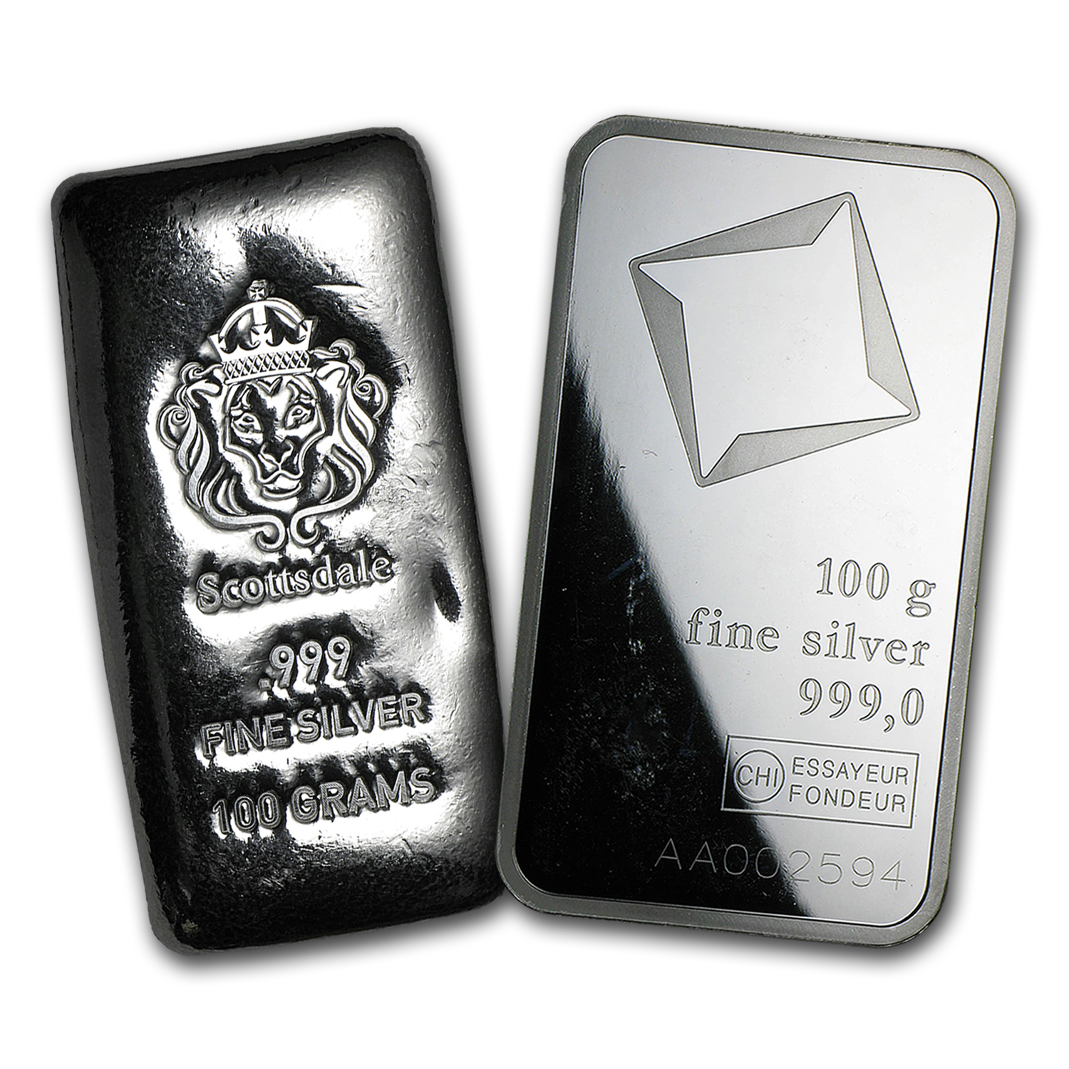 100 gram Silver Bar - Secondary Market