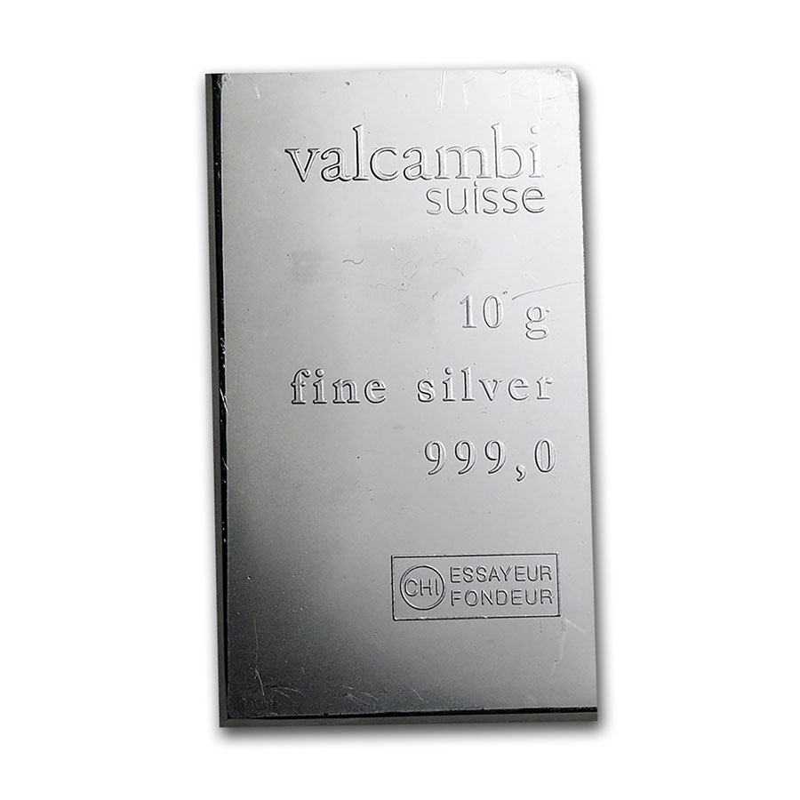 10 gram Silver Bars - Secondary Market