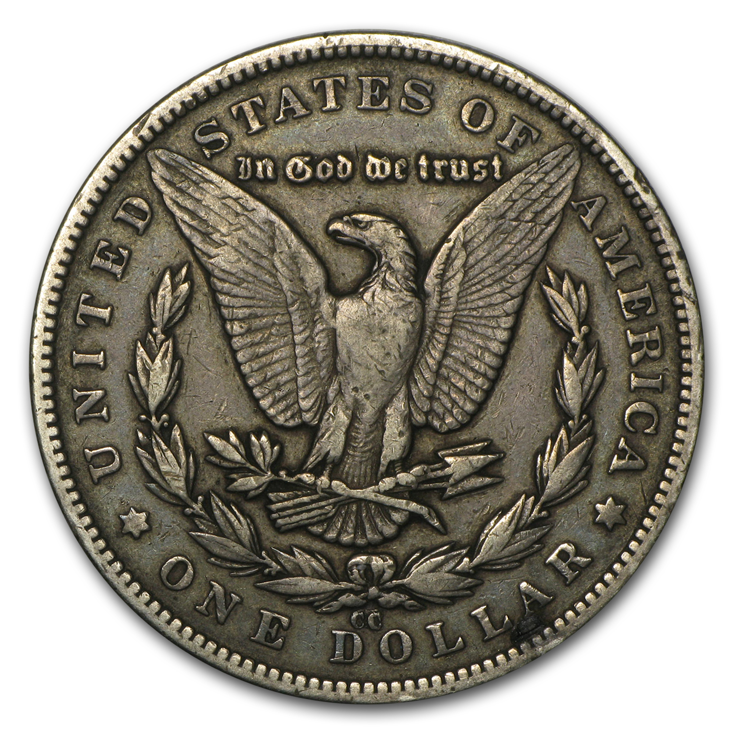 1879-CC Morgan Dollar - (Capped CC) Very Fine