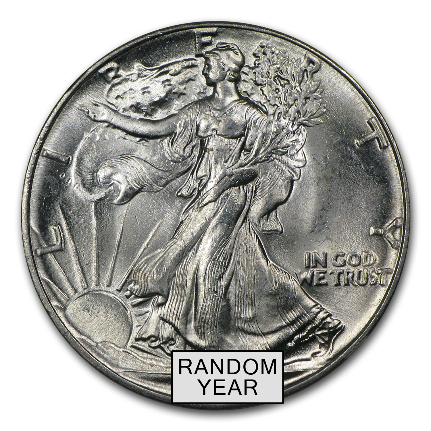 1940-1947 Walking Liberty Half-Dollar MS-64 NGC (Random)