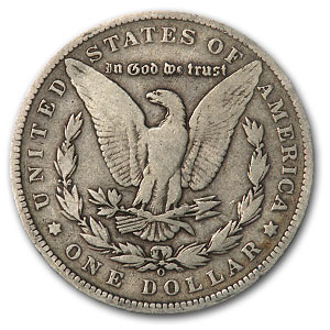 1888-O Morgan Dollar VG (VAM-7A, Shooting Star Hit List-40)