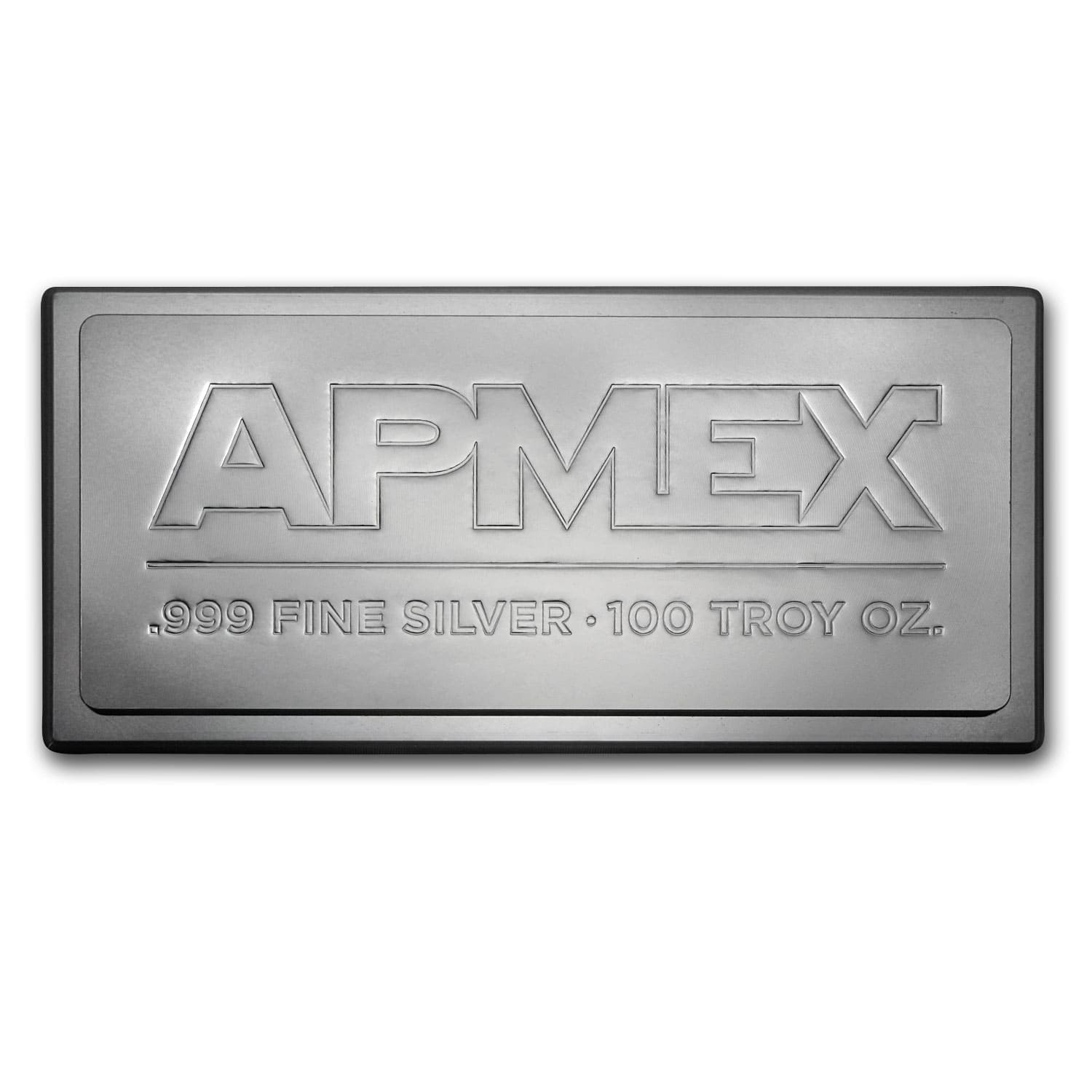 100 oz Silver Bar - APMEX (Stackable/IRA approved)