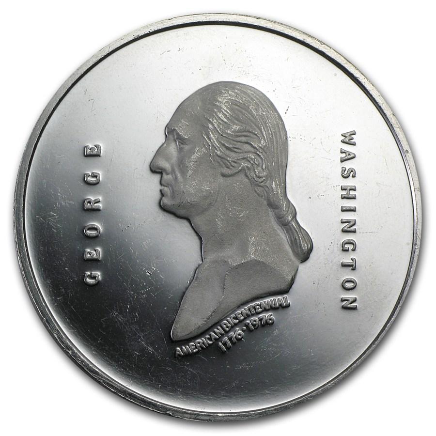 3 Oz Platinum Medallic Art Co George Washington Medal