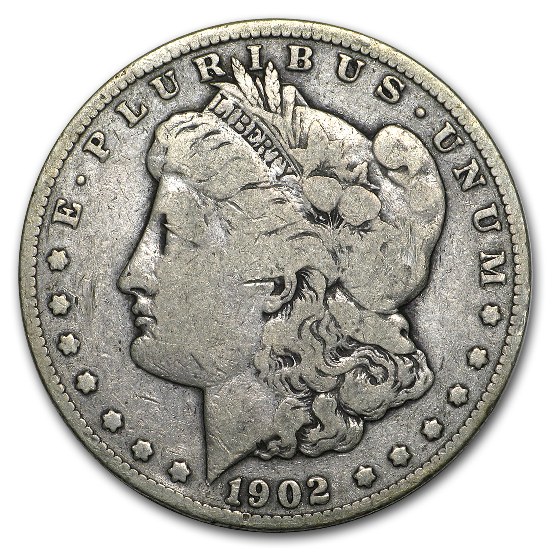 1902 S Morgan Dollar Vg Silver Coins And Bars