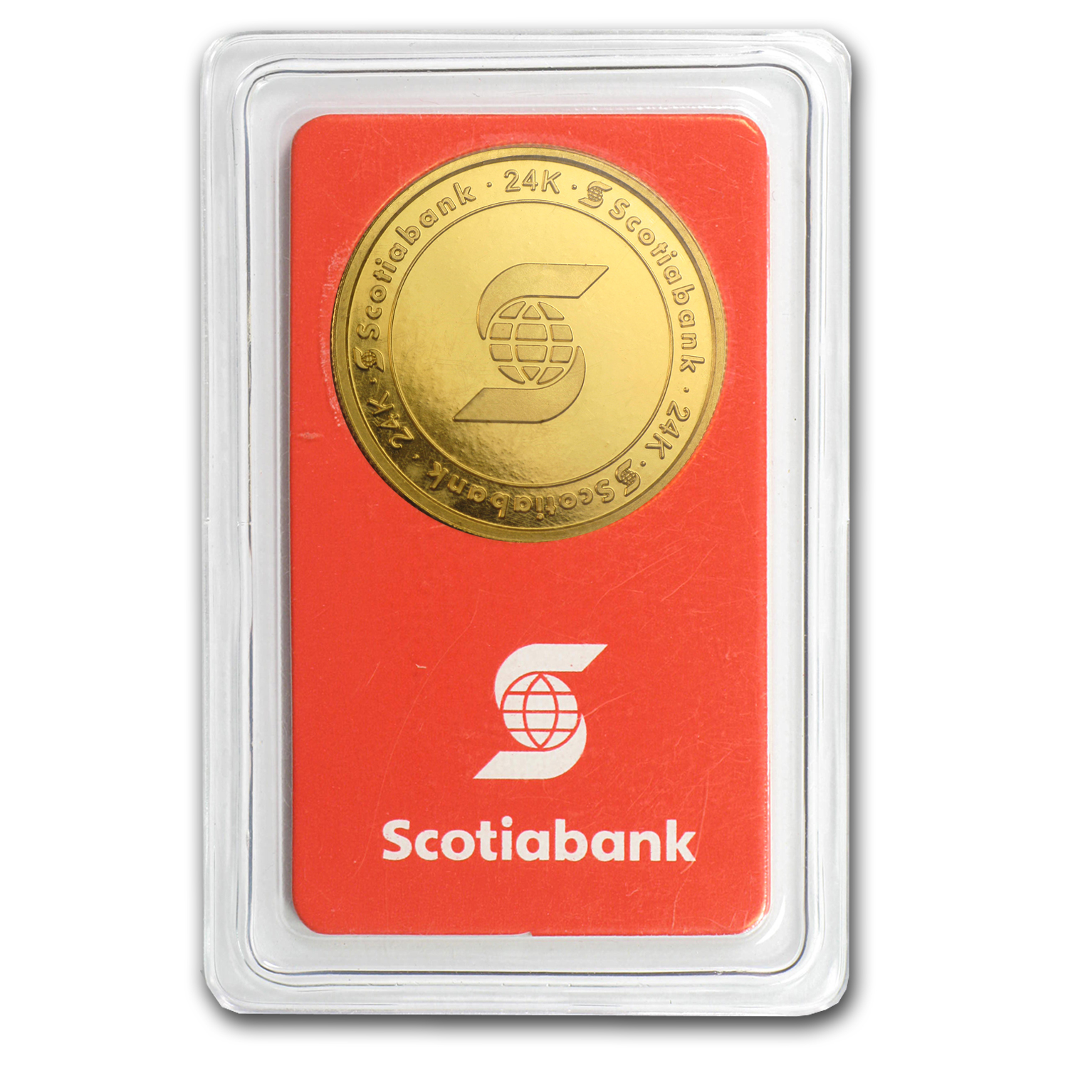 1/2 oz Gold Round - Scotiabank