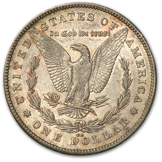 1878-CC Morgan Dollar XF Details (Scratched)