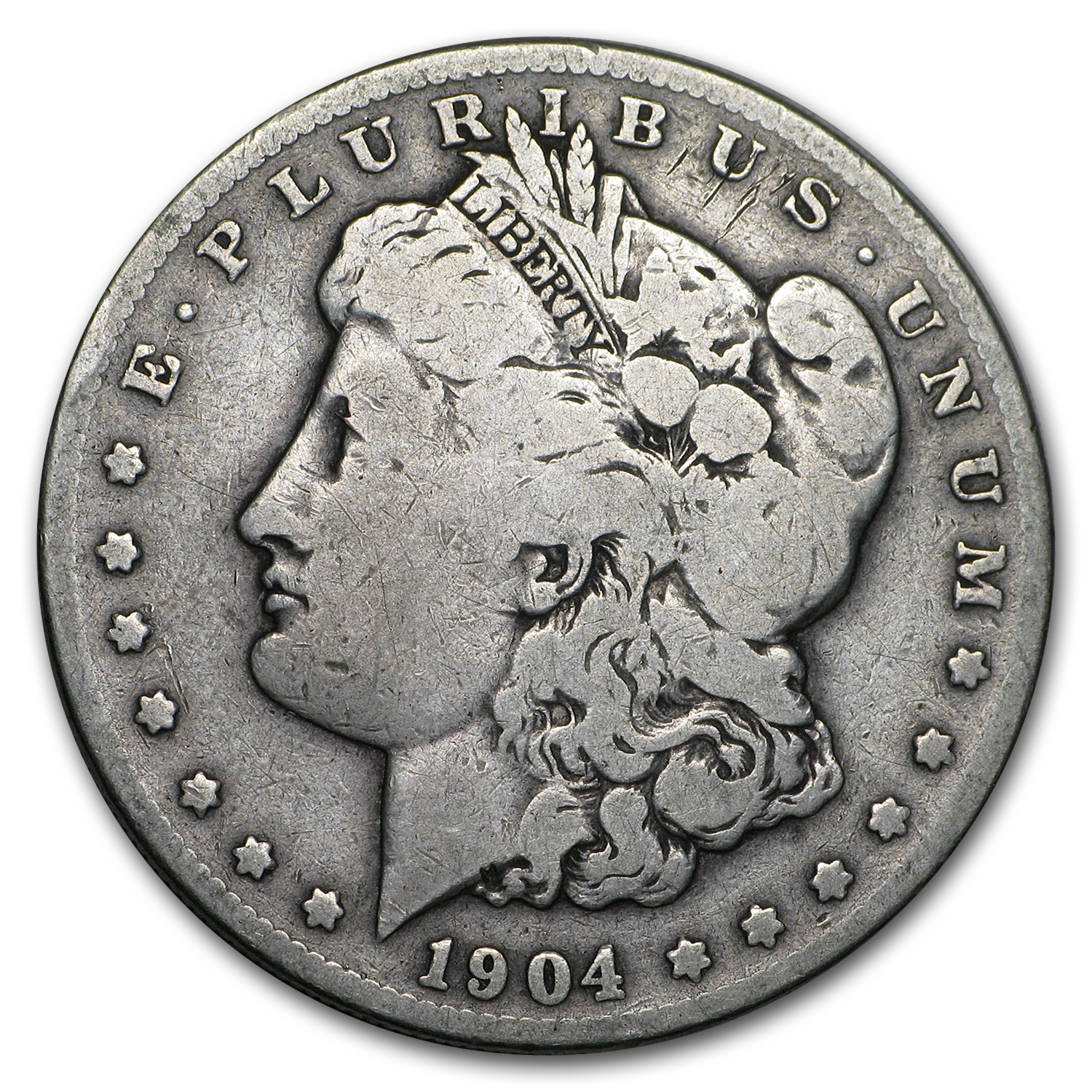1904-S Morgan Dollar Good
