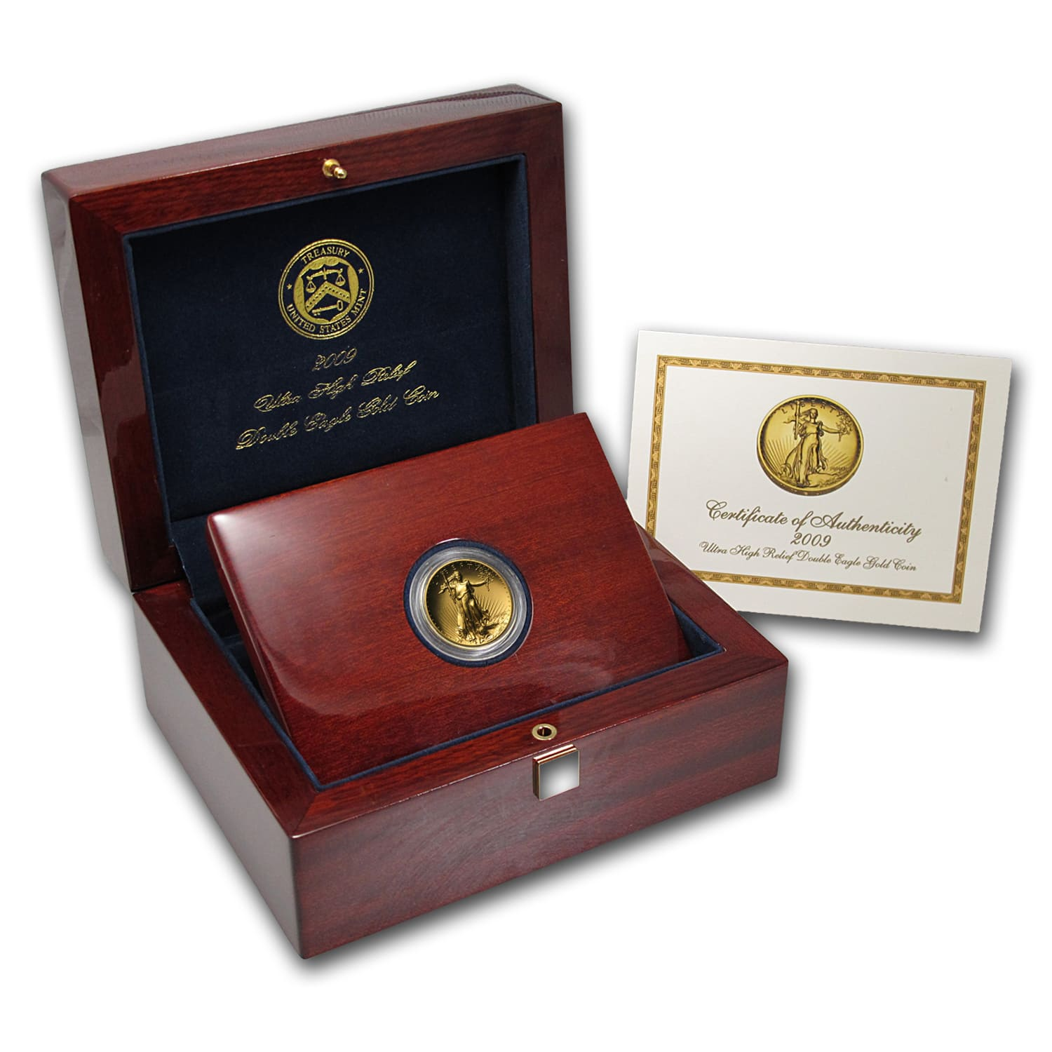 2009 Ultra High Relief Double Eagle (w/Box and COA)