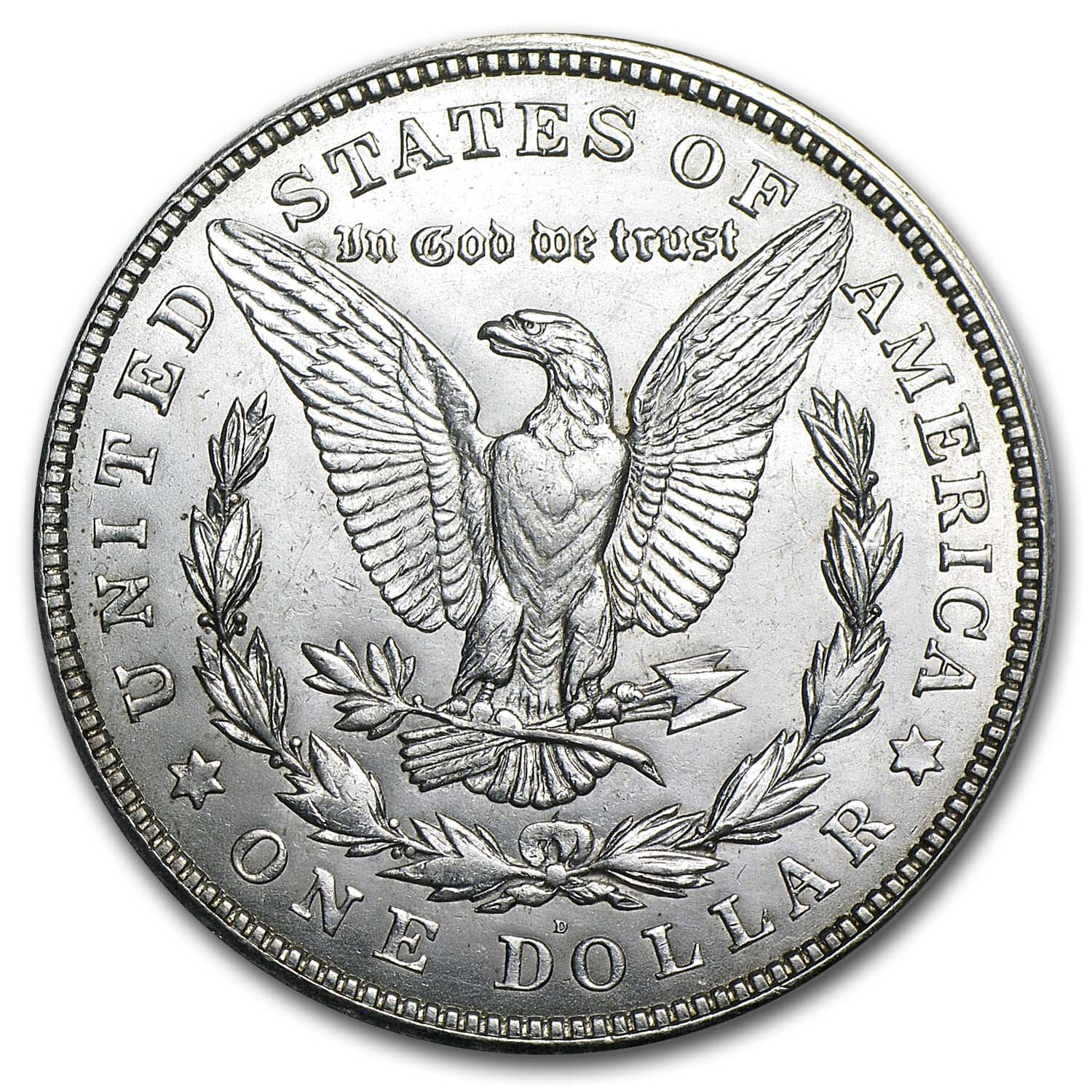 1921-D Morgan Dollar (Brilliant Uncirculated)
